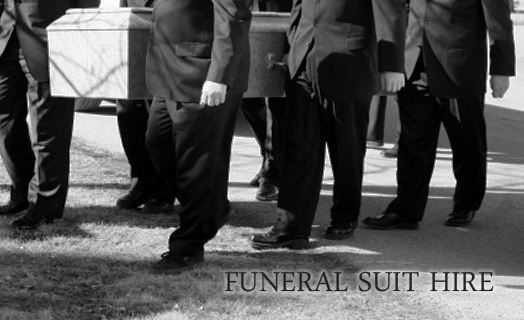 Suit Hire for Funerals